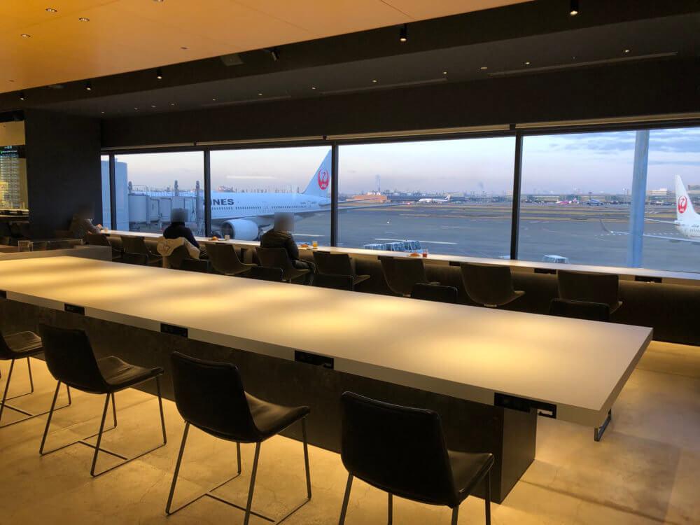 羽田空港 第1ターミナルのパワーラウンジ ノース