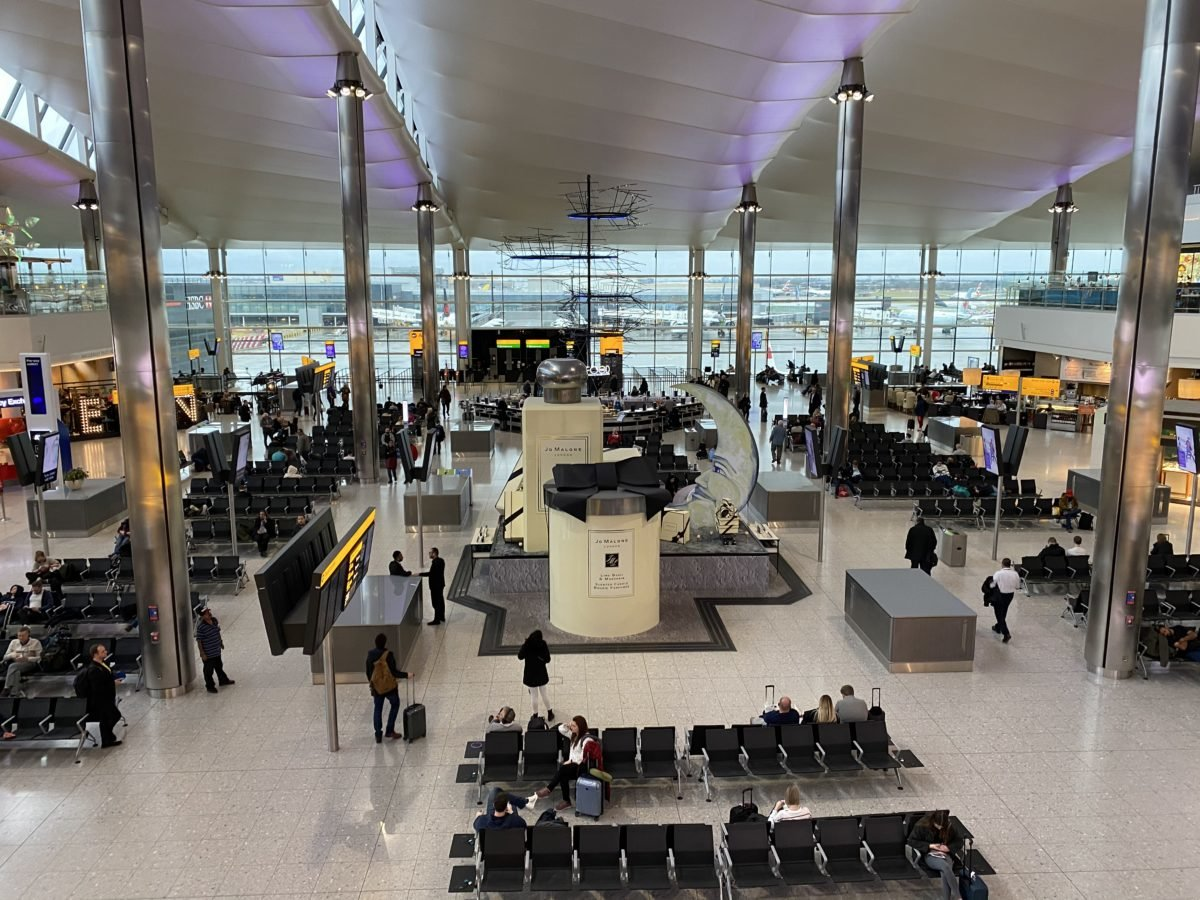 ロンドンのヒースロー空港
