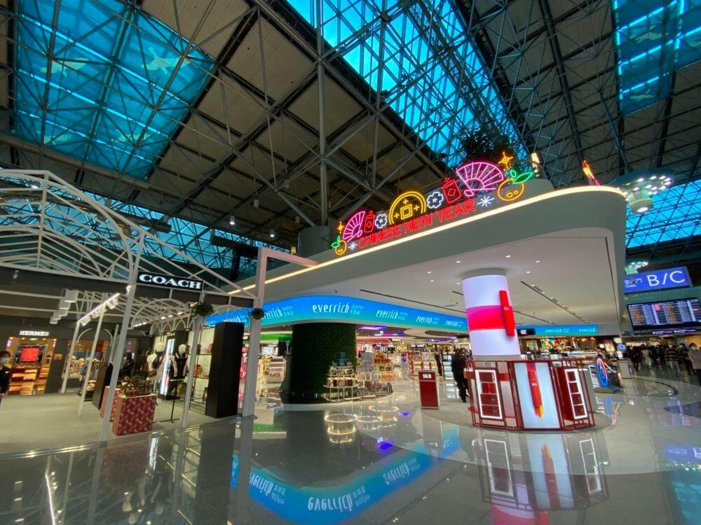 台湾の桃園国際空港
