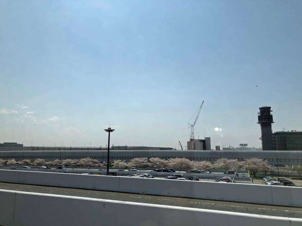 成田空港の駐車場