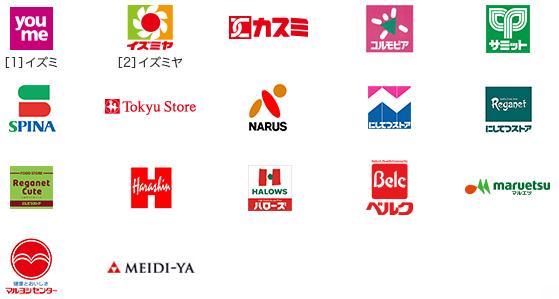 アメックスのスーパーマーケット応援キャンペーンの対象店舗