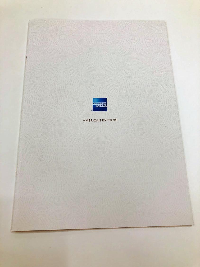アメックスの冊子