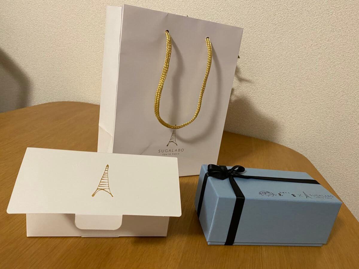 おうち de KIWAMIで購入したSUGALABOの袋