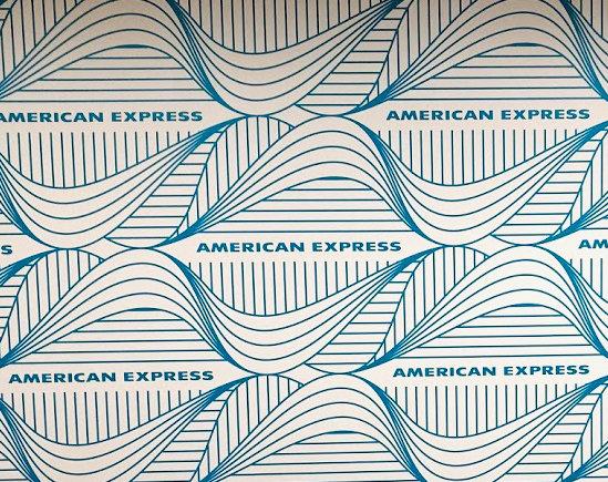 アメリカン・エキスプレス本社の壁
