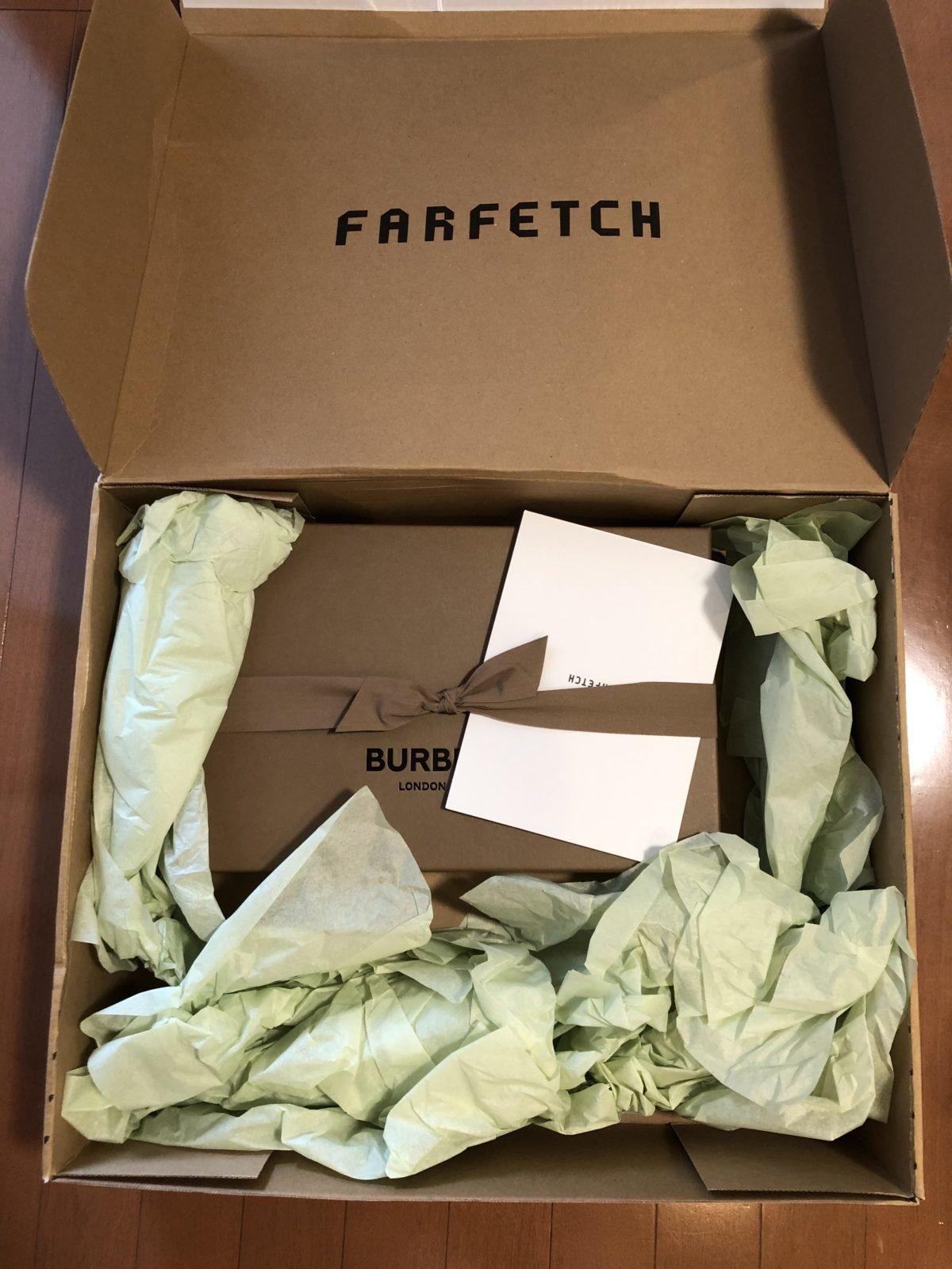 Farfetchの箱