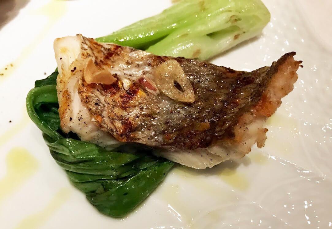 ジャッジョーロ銀座の魚料理