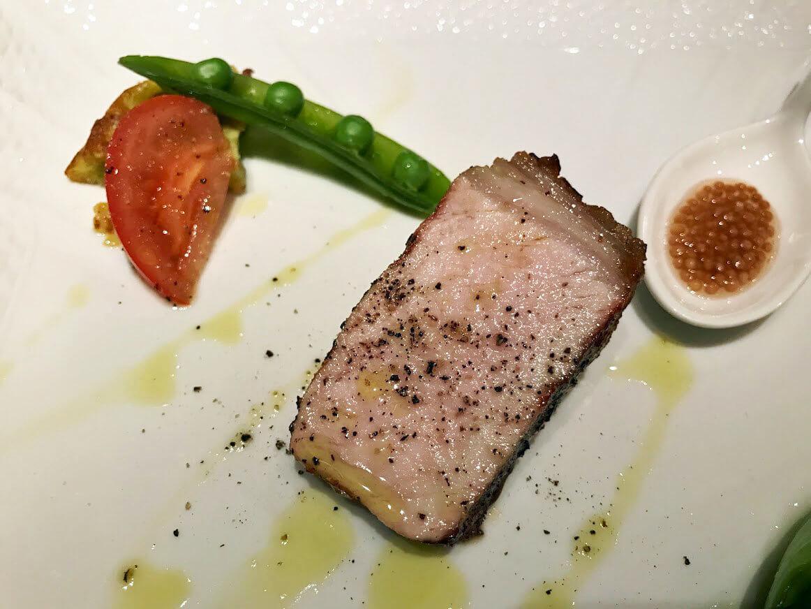 ジャッジョーロ銀座の肉料理