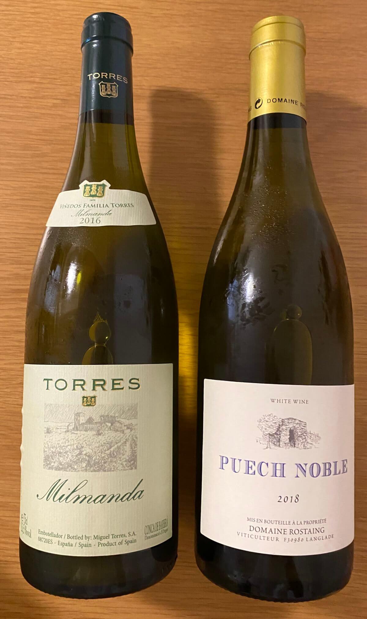 エノテカで購入した白ワイン