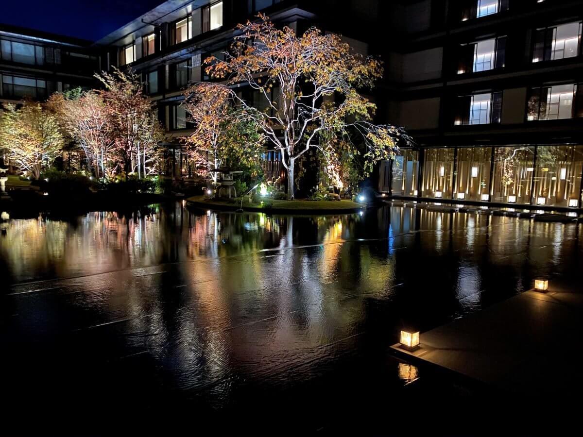 ホテルザ三井京都ラグジュアリーコレクションの庭園