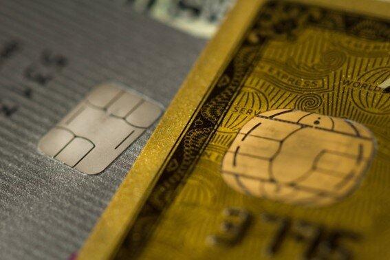 アメックスのカード表面